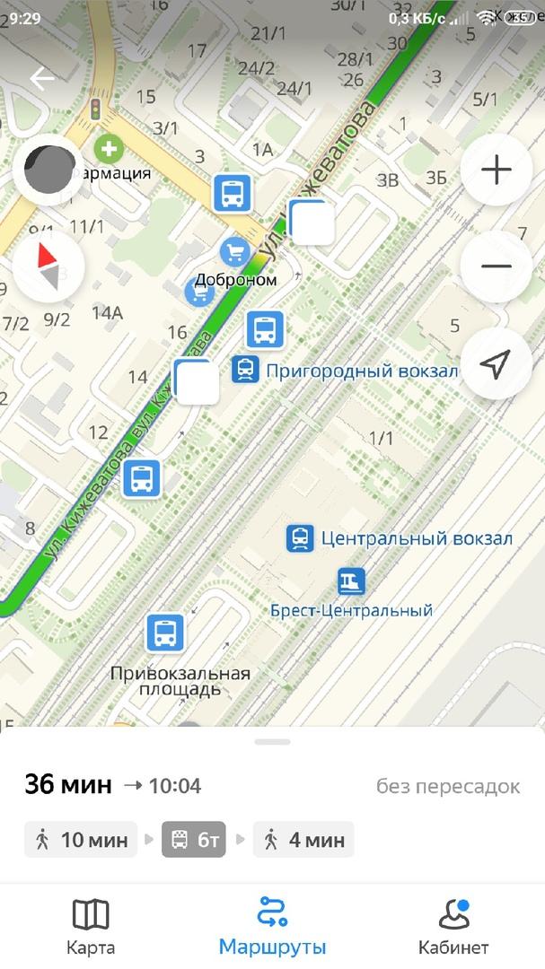 Общественный транспорт в Бресте